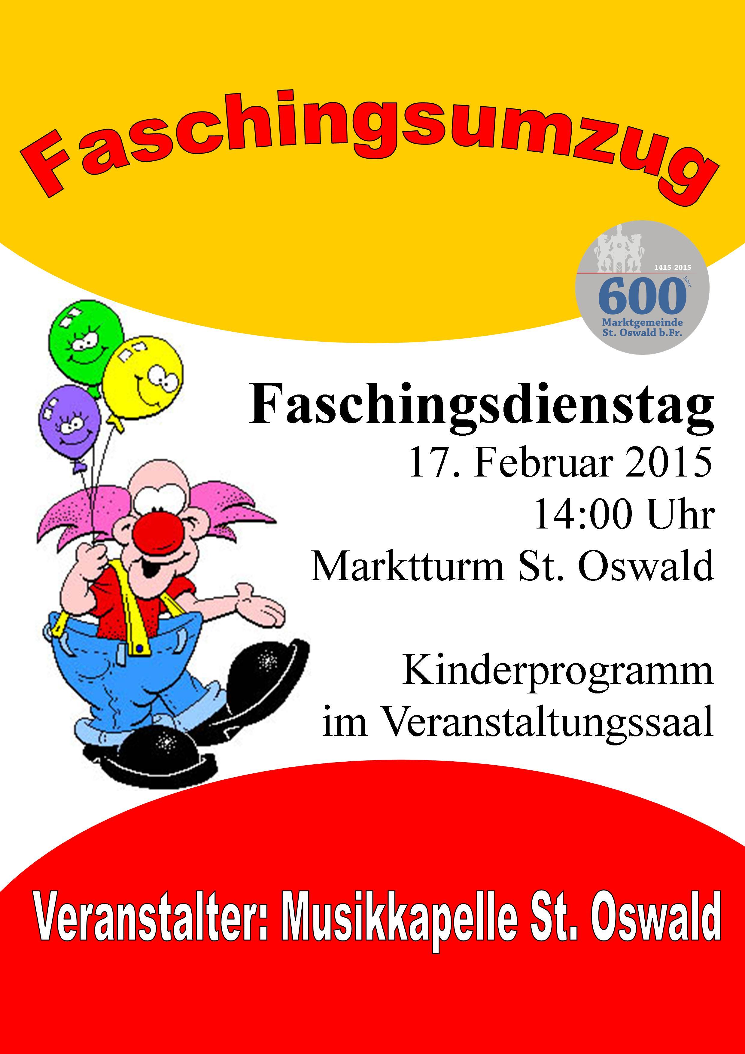Kinderfasching 2015